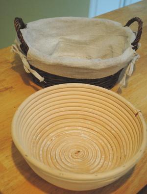 発酵用のバスケット