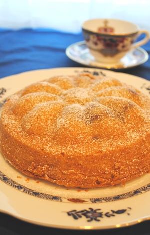 アップル・マーガレットケーキ