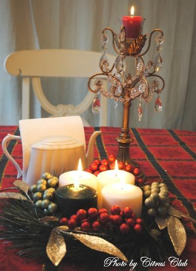 待降節が終わってクリスマスライト点火