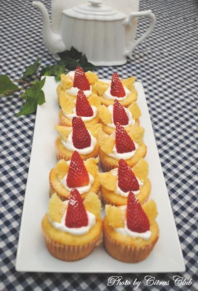 バターフライケーキ