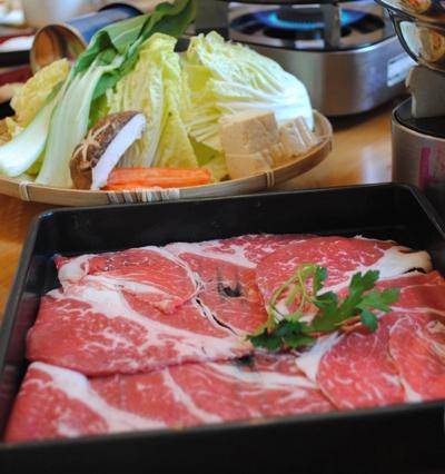 しゃぶしゃぶ用の牛肉