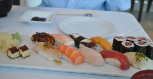 寿司の盛り合わせ