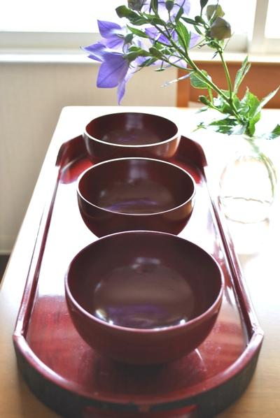 会津塗り汁椀