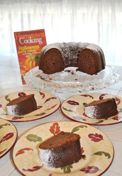 マホガニーパウンドケーキ