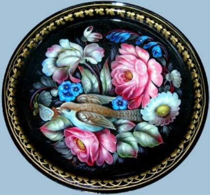 売りに出ているスラバ師の花