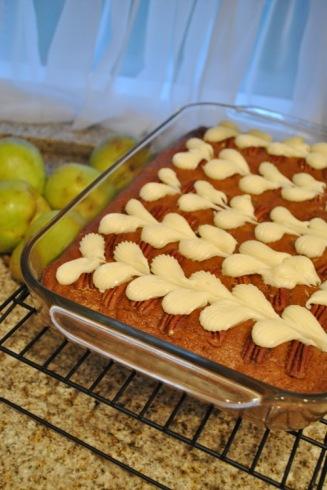 アップルソースケーキ
