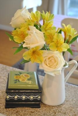お花とボックス