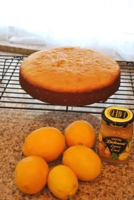 無農薬のレモンケーキ