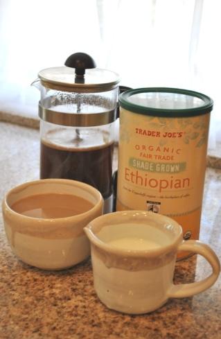 エチオピアのオーガニックコーヒー