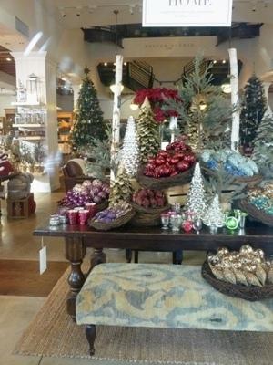 店のクリスマスデコレーション1