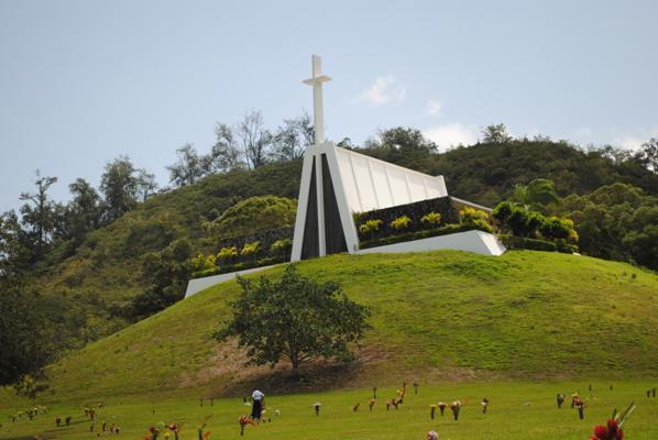 墓地の教会