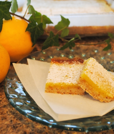 Mayer lemon bars