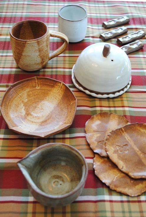 Cheese dome ande more ceramics