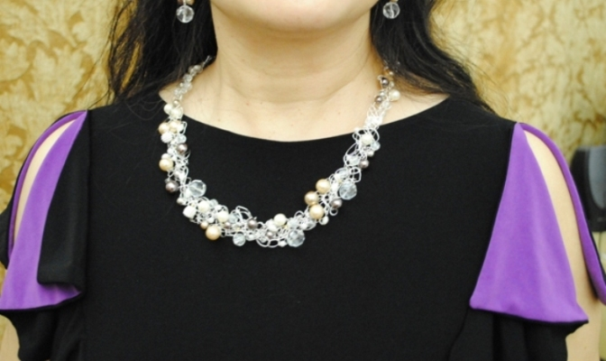 cruchet necklace