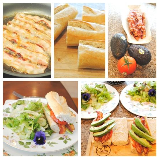 salad & sandwiches
