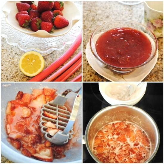 strawberry souce