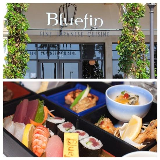 Bluefin lunch bento box