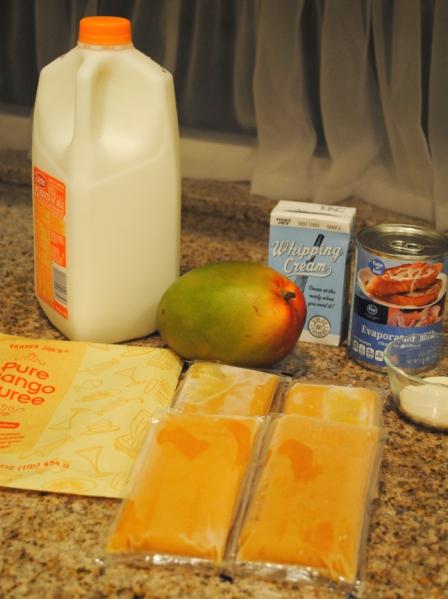 mango pudding ingredients