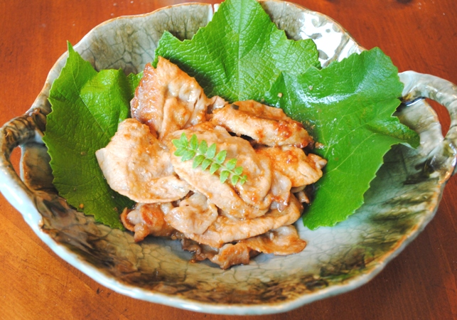 shougamiso  pork (2)