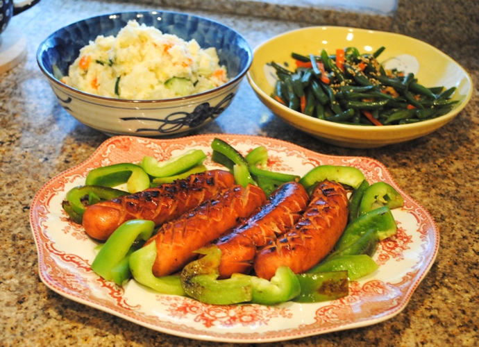 sausage dinner (1)