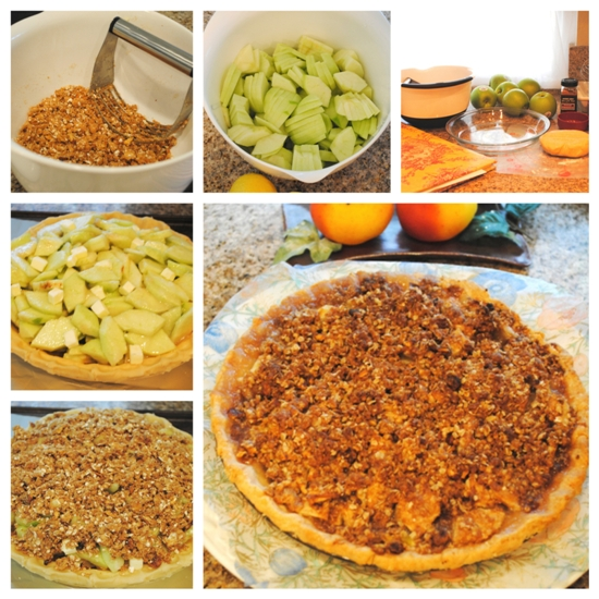 apple crumble pie (7)_Fotor_Collage