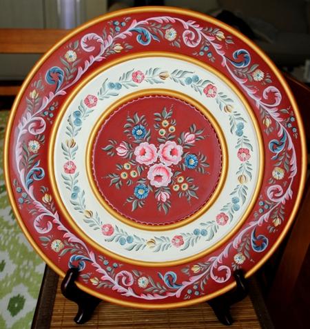 Hindeloopen Christmas Plate