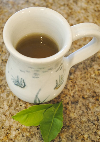 レモン葉茶