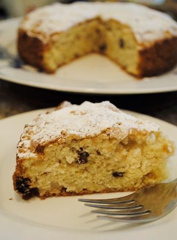 rum rasin apple cake (2)