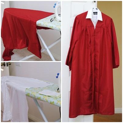 graduation gawn