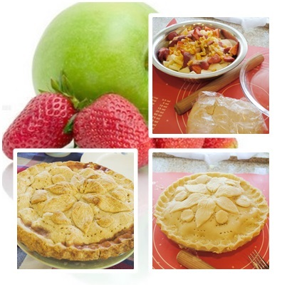 apple strawberry pie
